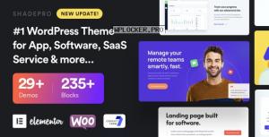 ShadePro v3.3.0 – Startup & SaaS WordPress Theme