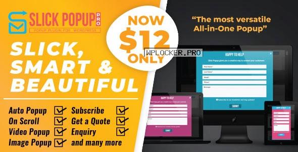 Slick Popup Pro v2.3.6 – WordPress Popup Plugin