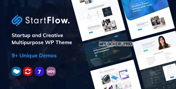 Start Flow v1.14 – Startup and Creative Multipurpose WordPress Theme