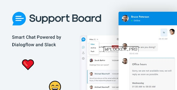 Support Board v3.3.3 – Chat WordPress Plugin – Chat & Support