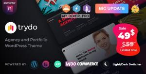 Trydo v1.1.1 – Creative Agency & Portfolio WordPress Theme