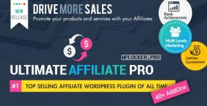 Ultimate Affiliate Pro WordPress Plugin v7.2