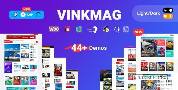 Vinkmag v3.4 – Multi-concept Creative Newspaper