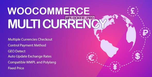 WooCommerce Multi Currency v2.1.17 – Currency Switcher