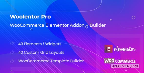 WooLentor Pro v1.7.0 – WooCommerce Elementor Addons nulled