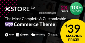 XStore v8.0.3 – Responsive Multi-Purpose WooCommerce WordPress Theme NULLED