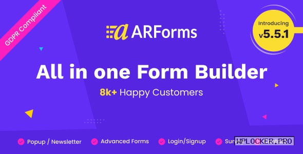 ARForms v5.5 – WordPress Form Builder Plugin