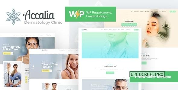 Accalia v1.4.0 – Dermatology Clinic WordPress Theme