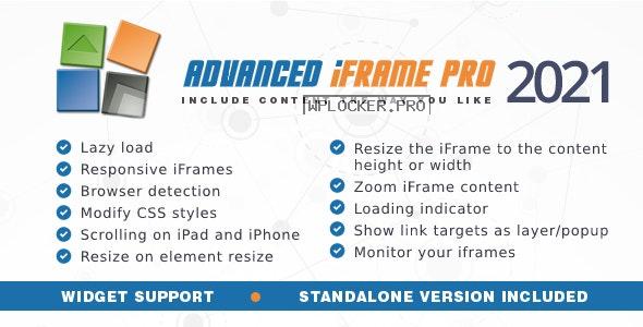 Advanced iFrame Pro v2021.8