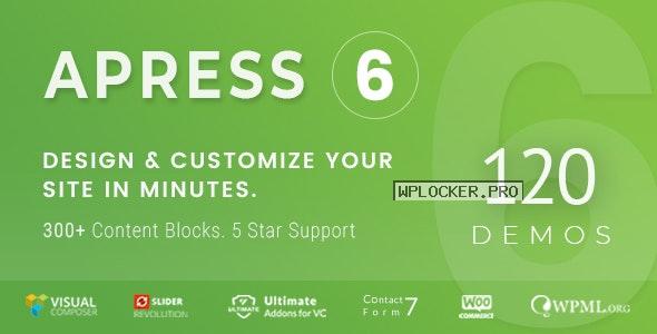 Apress v6.0.0 – Responsive Multi-Purpose Theme