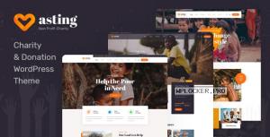 Asting v1.0.4 – Charity & Donation WordPress Theme
