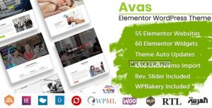 Avas v6.3.1.1 – Multi-Purpose WordPress Theme
