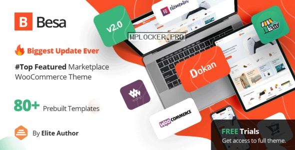 Besa v2.0.5 – Elementor Marketplace WooCommerce Theme