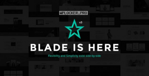 Blade v3.3.5 – Responsive Multi-Functional Theme
