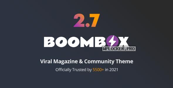 BoomBox v2.8.1 – Viral Magazine WordPress Theme