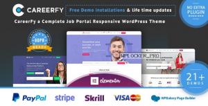 Careerfy v6.9.0 – Job Board WordPress Theme
