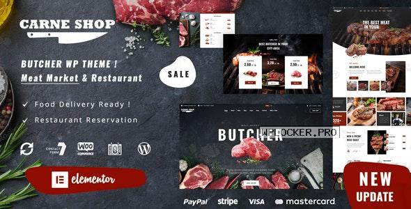 Carne v1.1 – Butcher & Meat Restaurant
