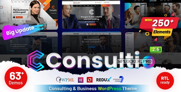 Consultio v2.6.0 – Consulting Corporate