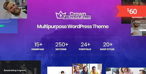 Crown v1.0.4 – Multi Purpose WordPress Theme