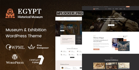 Egypt v1.6 – Museum & Exhibition WordPress Theme