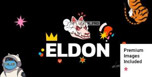 Eldon v1.0 – Artist Portfolio Theme NULLED