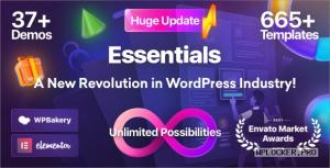 Essentials v2.0.6 – Multipurpose WordPress Theme