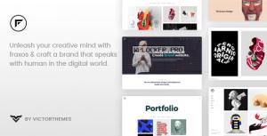 Fraxos v1.8.1 – Creative Portfolio WordPress Theme