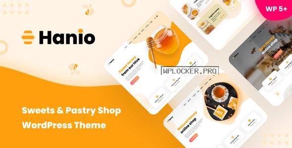 Hanio v1.93 – Sweets & Pastry Shop WordPress Theme