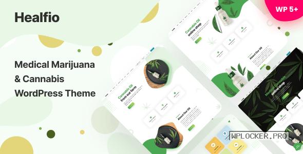 Healfio v1.26 – Medical Marijuana & Coffeeshop WordPress Theme
