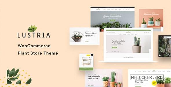 Lustria v2.3 – MultiPurpose Plant Store WordPress Theme