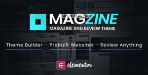 Magzine v1.0.1 – Elementor Review and Magazine Theme