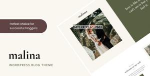 Malina v2.3.0 – Personal WordPress Blog Theme