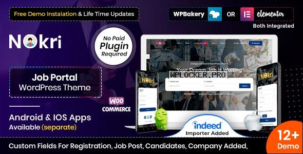 Nokri v1.4.6 – Job Board WordPress Theme