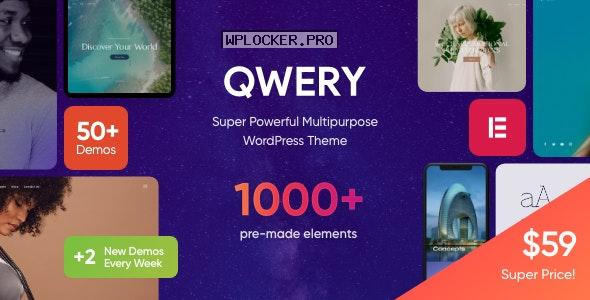 Qwery v1.1.4 – Multi-Purpose Business WordPress Theme + RTL