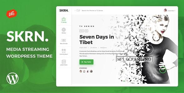 SKRN v4.8 – Media Streaming App WordPress Theme