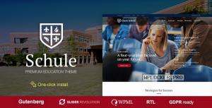 Schule v1.1.1 – School & Education Theme