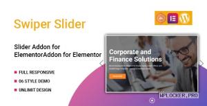 Swiper v1.0.0 – Slider Widget for Elementor