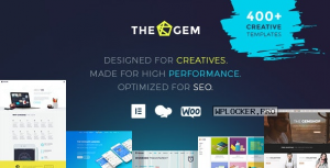 TheGem 5.1.2 – Creative Multi-Purpose WordPress Theme NULLED