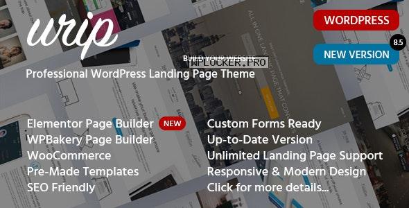 Urip v8.6.3 – Professional WordPress Landing Page