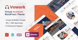 Vework v1.0.3 – Virtual Assistant WordPress Theme