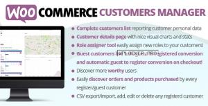 WooCommerce Customers Manager v27.5