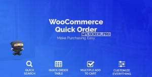WooCommerce Quick Order v1.4.2