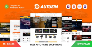 Autusin v2.2.1 – Auto Parts & Car Accessories Shop Elementor WooCommerce WordPress Theme
