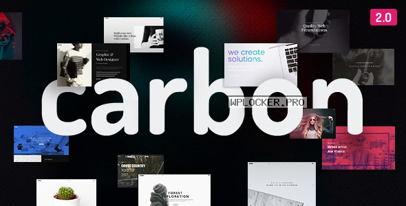 Carbon v2.9 – Clean Minimal Multipurpose Theme