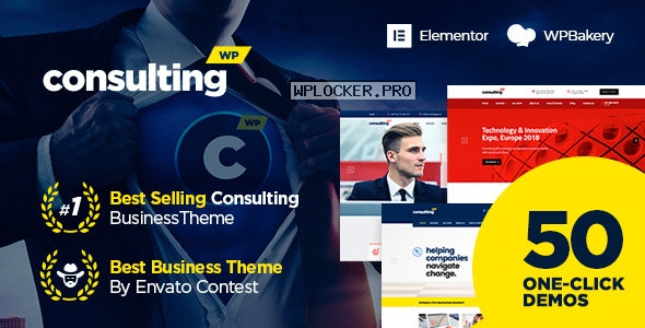 Consulting v6.2.0 – Business, Finance WordPress Theme nulled