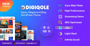 Digiqole v2.0.1 – News Magazine WordPress Theme