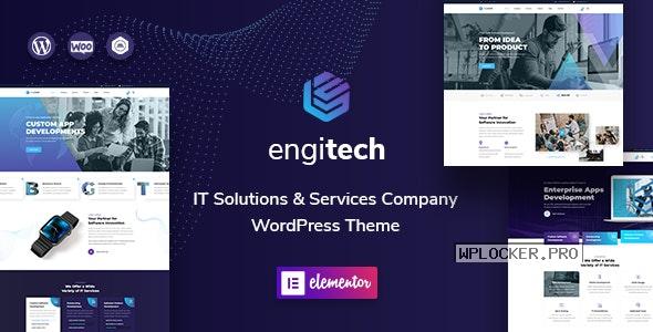 Engitech v1.3.2 – IT Solutions & Services WordPress Theme