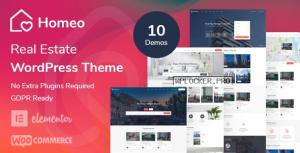 Homeo v1.2.21 – Real Estate WordPress Theme