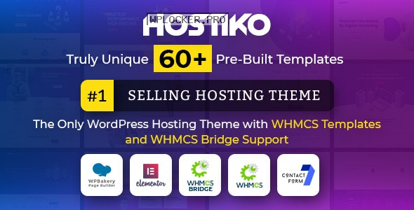 Hostiko v60.0 – WordPress WHMCS Hosting Theme
