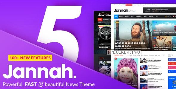 Jannah News v5.4.9 – Newspaper Magazine News AMP BuddyPress nulled
